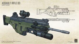 IM Assault Rifle 03