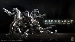 Interstellar Marines- Back 2 Back