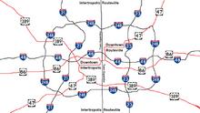 Intertropolis & Routeville city metro map