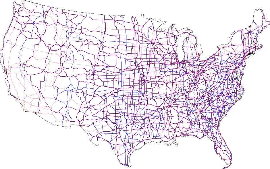 United States Numbered Highway System | Intertropolis ...