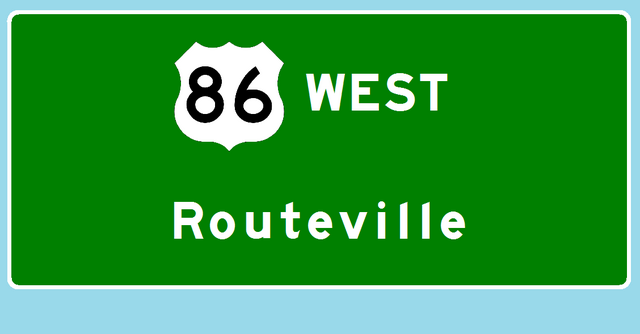 File:U.S. Route 86 west to Routeville.png