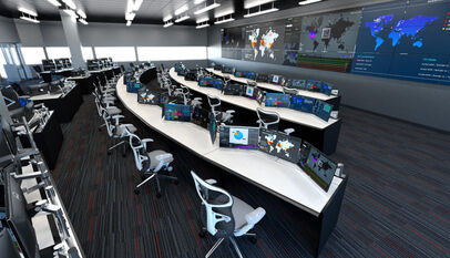 Command-control-utility-room