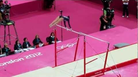 Beth Tweddle Uneven Bar Performance - Olympics 2012