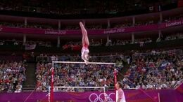 Viktoria Komova - London 2012 Olympics UB TF