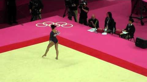 2012 Olympics EF Aly Raisman Floor