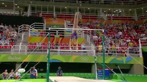 Nina Derwael 2016 Olympics QF UB