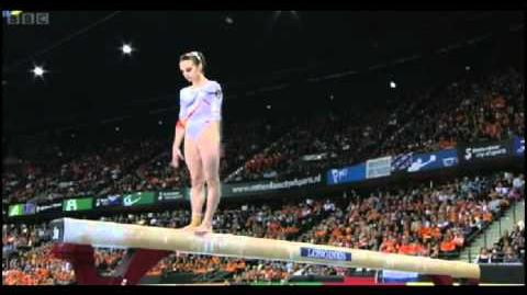 Ana Porgras - Balance Beam - 2010 World Championships Event Final