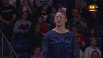 Elissa Downie. 2019 European Championships. AA. FX