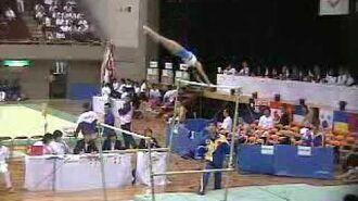 Cheng Fei 2003 Japan Junior International AA Bars