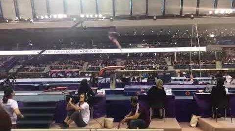 Pyon Rye Yong (PRK) - VT1 EF - Doha World Cup 2018