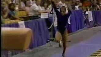 Mohini Bhardwaj - 1995 US Olympic Festival EF - Vault 1