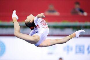 Bai yawen 2014 worlds qf