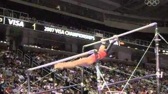 Ivana Hong - Uneven Bars - 2007 Visa Championships - Women - Day 1