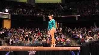 Christine Lee - Balance Beam Finals - 2012 Kellogg's Pacific Rim Championships