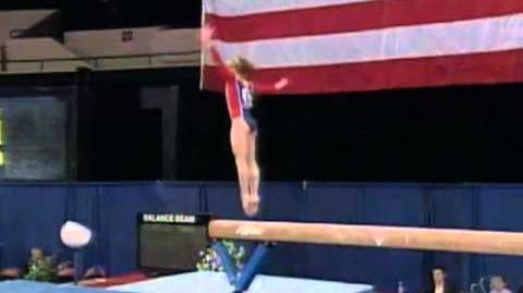 Vanessa Atler - Balance Beam - 1999 Visa American Cup