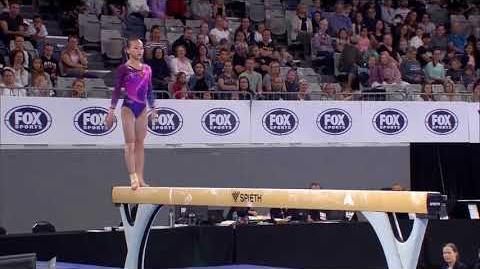 Chen Yile (CHN) - Balance Beam - 2018 Melbourne World Cup