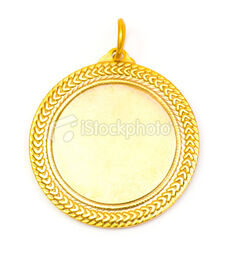 Stock-photo-6626153-blank-face-gold-medal