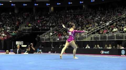 Carlotta Ferlito (ITA) - Floor Exercise - 2016 AT&T American Cup