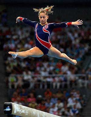 Shawn johnson 2008 olympics beam