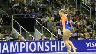 Shawn Johnson - Floor Exercise - 2007 Visa Championships - Women - Day 2