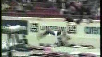 Elvire Teza - 1998 European Championships Team - Vault 2