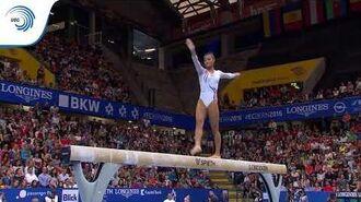 Marine BOYER (FRA) - 2016 European Championships - silver medallist, beam
