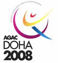 2008 Asian Artistic Gymnastics Championships logo