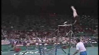 Lilia Podkopayeva - 1996 Olympics EF - Uneven Bars