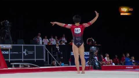 Mai Murakami. 2017 World Championships. AA. FX