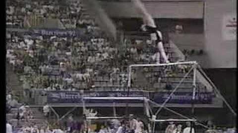 Tatiana Lysenko - 1992 Olympics AA - Uneven Bars
