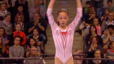 Zhang Jin - Balance Beam - 2018 Stuttgart World Cup