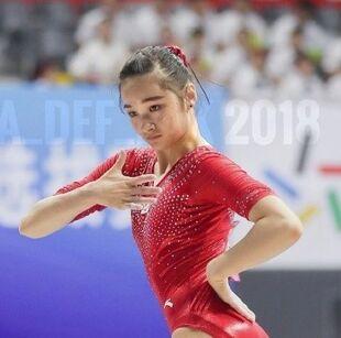 Liu jinru 2018 chn nats fx ef