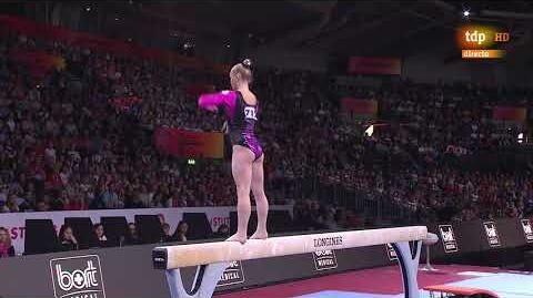 Angelina Melnikova. 2019 World Championships. AA