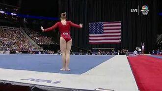 Jade Carey – Floor Exercise – 2019 U.S. Gymnastics Championships – Senior Women Day 1 - NBCSN