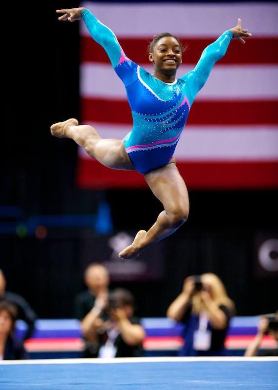 Image biles simone 2013 gymnastics wiki fandom powered by wikia - Simone biles pics ...