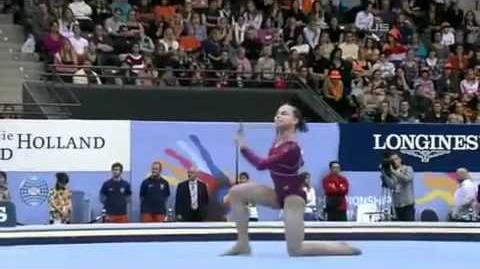 Rebecca Bross - 2010 World Championships - All Around - Floor Exercise