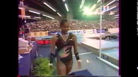 Elvire TEZA barres - Championnats de France 2000 EF