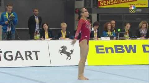 Morgan Hurd - Floor Exercise - 2017 Stuttgart World Cup