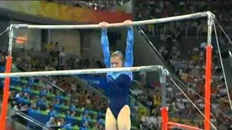 Anna Pavlova - Uneven Bars - 2008 Olympics - All Round