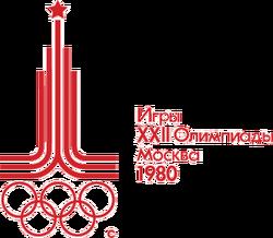 1980 Moscow Summer Olympics logo