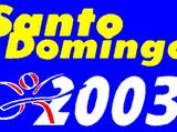 2003 Santo Domingo Pan American Games
