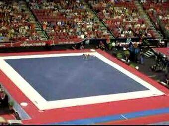 Floor Exercise Skills Gymnastics Wiki Fandom