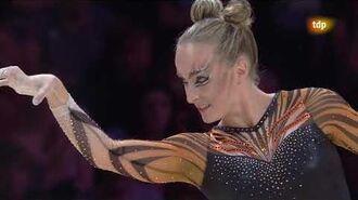 Celine Van Gerner. 2018 European Championships. EF. FX