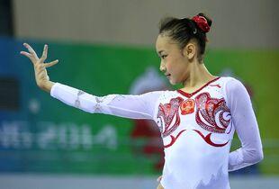 Bai yawen 2014 worlds pt