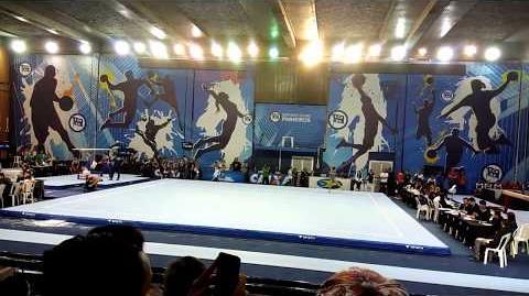 Thais Fidelis - Brazilian Nationals 2017 - floor (14.2!!!!!)