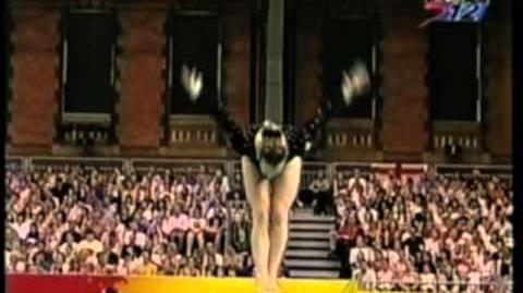 Kate Richardson - 2002 Commonwealth Games AA - Balance Beam