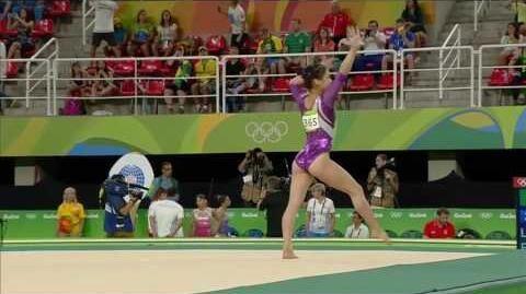 Lee Eun Ju 2016 Olympics QF FX