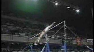 Isabelle Severino - 1996 Worlds Finals - Uneven Bars