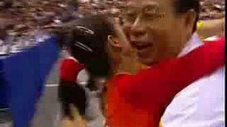 Fei Cheng Floor Event Finals Worlds 2006 (BBC)