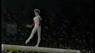 Daniela Silivas - 1988 Olympics EF - Balance Beam